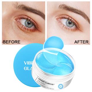 VIBRANT GLAMOUR Mặt nạ mắt loại bỏ bọng mắt quầng thâm, dưỡng ẩm nâng cơ làm săn chắc 60 miếng - INTL thumbnail