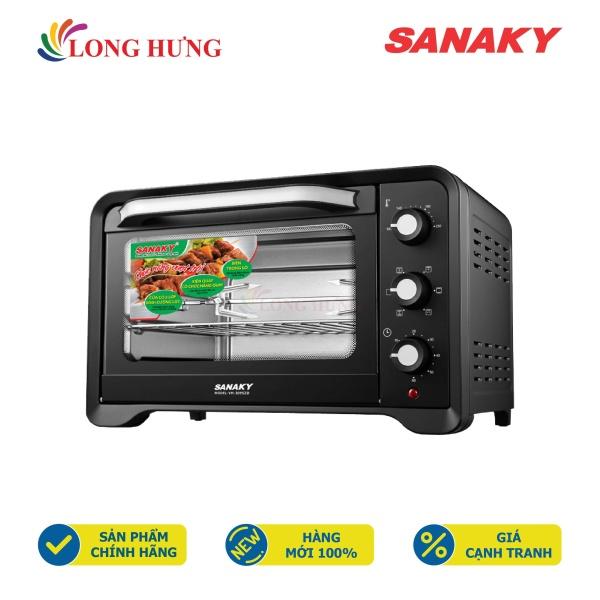 Lò nướng Sanaky 30 lít VH-309N2D/VH-309S2D - Hàng chính hãng - Thiết kế nhỏ gọn, Dung tích 30 lít, Công suất 1600W