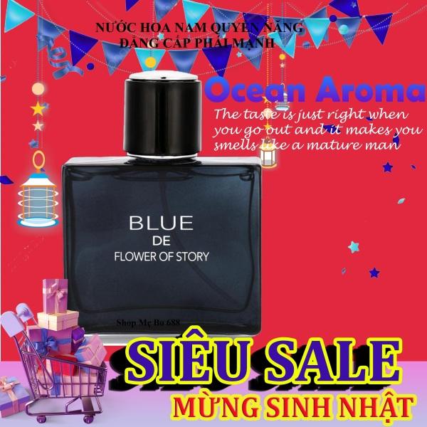 [HOT] Nước Hoa Nam Blue Mạnh Mẽ, nước hoa for men giá tốt, hương thơm quyến rũ đàn ông đích thực-Shop Mẹ Bo cao cấp