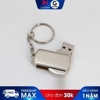 [SĂN VOUCHER 7%] USB GUTEK G1 16GB 32GB nắp xoay chống sốc chống va đập hình móc khóa nhỏ gọn không rỉ sét, phai màu, sử dụng cho Laptop,PC,... thumbnail