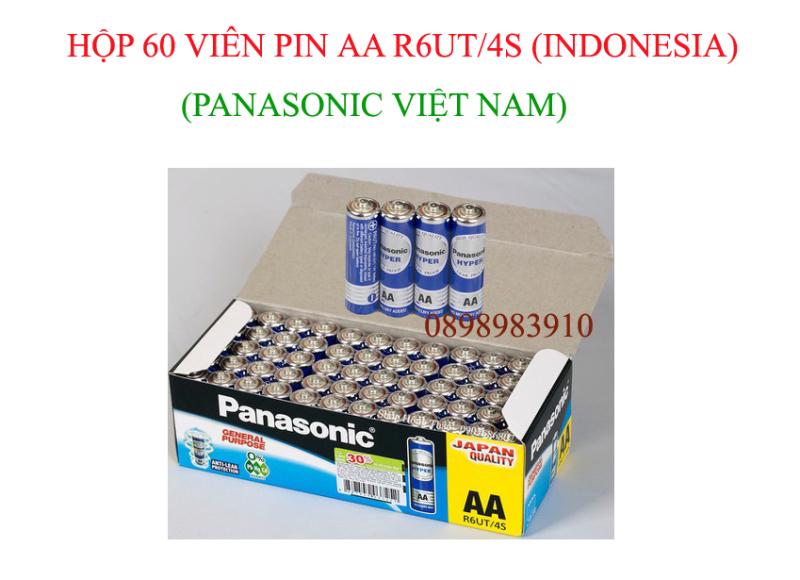 Hộp 60 viên pin AA Carbon PANASONIC 1.5v R6UT/4S