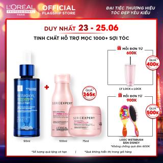 Tinh chất hỗ trợ mọc tóc Loreal Professionnel Serioxyl Denser Hair 90ml, nuôi dưỡng nang tóc từ sâu bên trong thumbnail