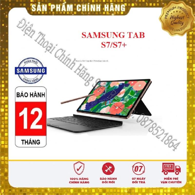 [FreeShip – Sale khô máu] Máy tính bảng Samsung Galaxy Tab S7/ S7+Tặng Bao da bàn phím Hàng Mới 100%, Nguyên Seal, Bảo hành Chính Hãng chính hãng