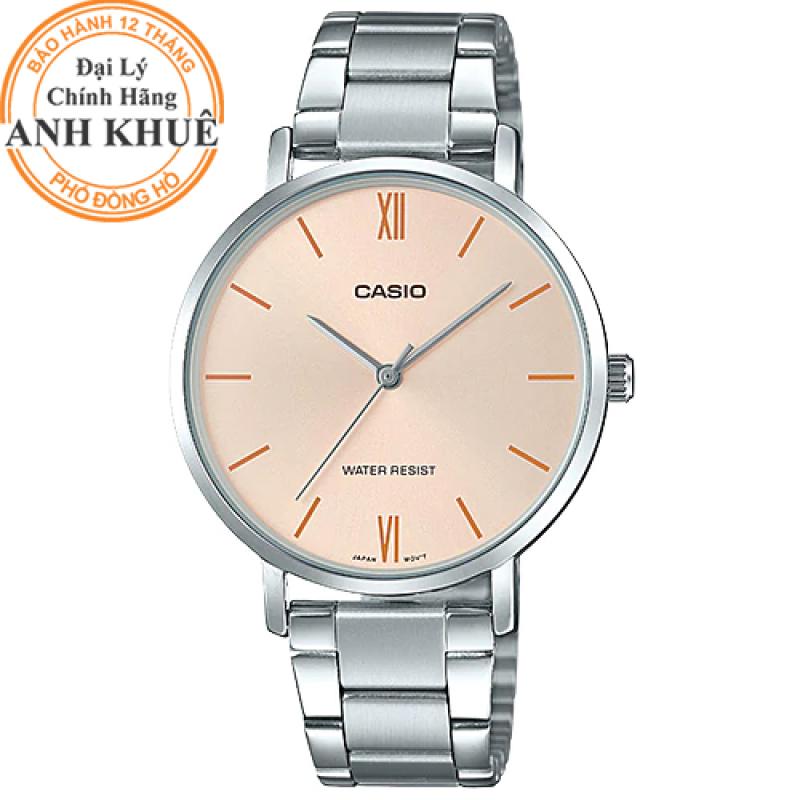 Đồng hồ nữ dây kim loại Casio Anh Khuê LTP-VT01D-4BUDF