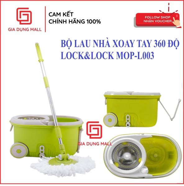Bộ Cây Lau Nhà Xoay Tay 360 Độ Lock&Lock MOP-L003
