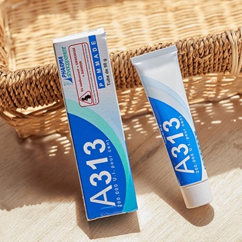 KEM DƯỠNG DA A313 NỘI ĐỊA PHÁP Ngừa mụn, giảm nếp nhăn, chống lão hóa (RETINOL A313) frorence86 Store giá rẻ