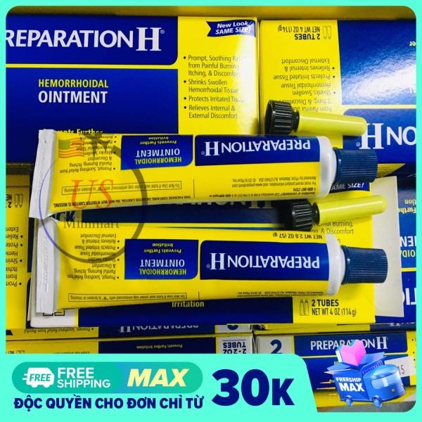 1 Tuýp Kem mỡ bôi trĩ Preparation H Ointment của Mỹ - US Minimart cao cấp