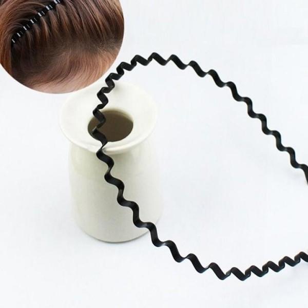 Combo 3 Bờm Tóc Lượn Sóng - Bờm tóc kiểu - Bờm tóc cá tính - Xược tóc kiểu lượn sóng - Đồ dùng gia đình tốt nhất