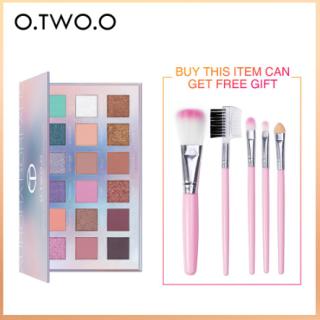 Bảng phấn mắt O.TWO.O 18 màu sắc chất lượng cao +Quà tặng miễn phí - INTL thumbnail