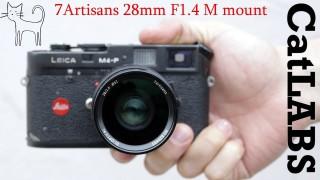 [Trả góp 0%]Ống kính 7Artisans 28mm F1.4 for Leica M và Sony Full-Frame FE Plus thumbnail