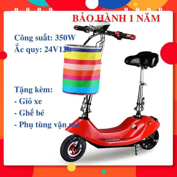 Giá bán Xe đạp điện trẻ em, Xe đạp điện mini, xe điện Escooter siêu tiện lợi, chạy được 20-30km