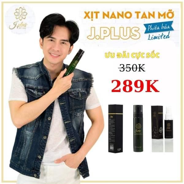 Jplus Xịt Tan Mỡ Nano  Giảm Cân CÔNG NGHỆ Hàn Quốc, Xịt tan mỡ, giảm cân an toàn, giảm cân hiệu quả, giảm cân tại nhàCam Kết Bởi ĐAN TRƯỜNG