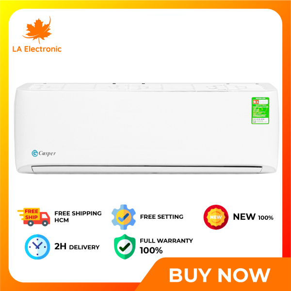 Installment 0% - Casper 1.5 HP Air Conditioner LC-12TL32 New 2020