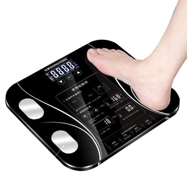 Cân điện tử thông minh phân tích cơ thể Perfect - Cân đo lượng mỡ - CÂN SỨC KHỎE SONGYING NEW 2019 (Màu ngẫu nhiên) - Máy cân đo lượng mỡ cơ thể - Cân sức khoẻ điện tử