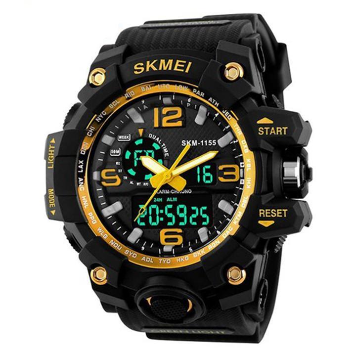 Đồng hồ điện tử thể thao SKMEI 1155 đa chức năng chống nước Nhật Bản