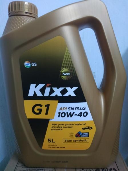KIXX G1 PLUS 10W40- 5L
