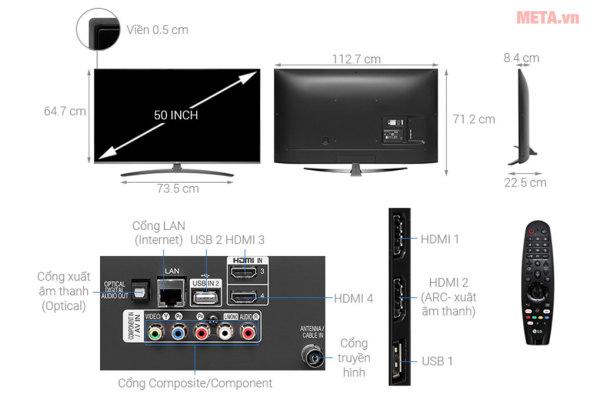 Bảng giá Smart Tivi Skyworth 55 inch 55UB7500 UHD