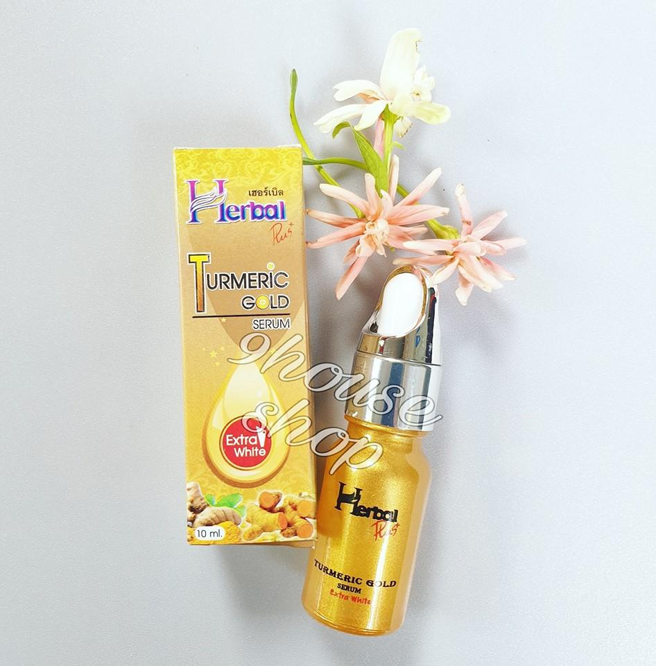 SERUM NGHỆ HERBAL TURMERIC GOLD THÁI LAN 10ml