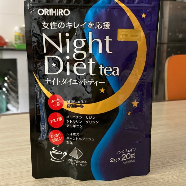 Trà giảm cân ban đêm Night Diet tea Orihiro giá rẻ