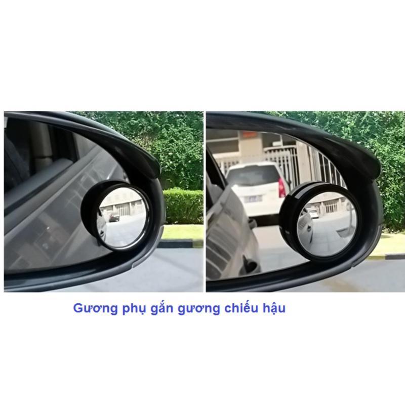02 gương phụ gắn 2 gương chiếu hậu trái phải của xe giúp quan sát điểm mù