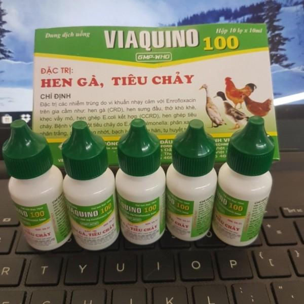 10 chai thuốc phòng và trị hen gà,tiêu chảy gà chọi,gà đá,gà cảnh,chim cảnh 10ml