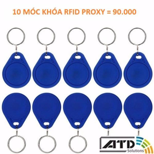 10 Móc khóa RFID proxy 125KHz