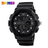 Giá Bán 100 Genuine Skmei Men Sport Watches Dual Display Digital Analog Led Electronic Watches Brand Quartz Watches 50M Waterproof Swimming Watches Intl Skmei Nguyên