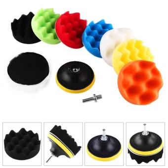 """Web so sánh 10Pcs Sponge Polishing Buffing Waxing Pad Kit For Car Polisher Buffer With Drill Adapter 5"""" - intl shop bán - Giá chỉ 208.059đ"""