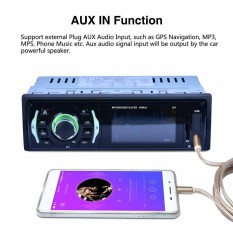 12V Car Audio Stereo FM Bluetooth MP3 Player AUX In With Remote Control - intl