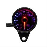 Giá Bán 12V Dc Dual Led Backlight Night Motorcycle Speedometer Odometer Readable Speed Meter Gauge Motorbike Instrument For Harley Black Intl Not Specified Nguyên