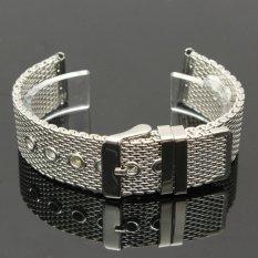 Nơi bán 1 cái Inox Chắc Chắn Watchbands 18 mét 20 mét 22 mét Cổ Điển Thời Trang Chốt Khóa Thẳng Cấp Đồng Hồ phụ kiện Dây Đeo Đồng Hồ-quốc tế