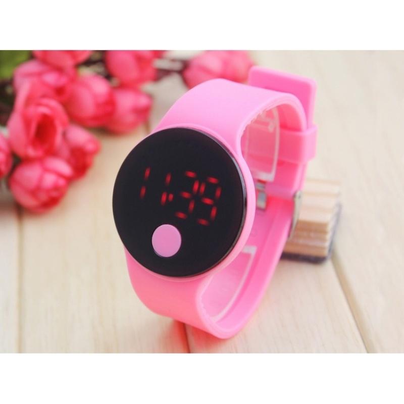 1 cái Unisex Thời Trang Nữ Người LED Màn Hình Kỹ Thuật Số Dây Đeo Silicone Thạch Anh Thể Thao Trẻ Em Dây relojes Thể Thao Đồng Hồ Relogio- quốc tế bán chạy