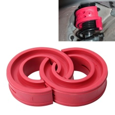 Giá Bán 2 Pcs Car Auto D Type Shock Absorber Spring Bumper Power Cushion Buffer Red Intl Mới Nhất