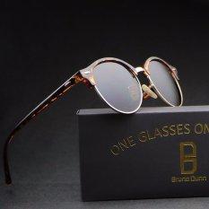2017 New Hd Round Mirror Sunglasses Women Men 4246(leoprd Frame Tea Lense) - Intl Giá Sốc Nên Mua