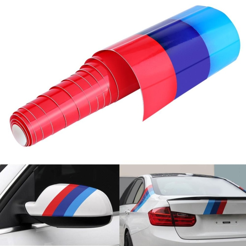 2 m * 1.5 cm M Màu Xe Hơi Tự Động Hút Mùi Cơ Thể Dán Decal Sọc Cho XE BMW 3/5 /7 Series-quốc tế