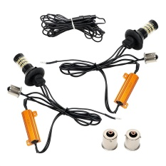 Mua 2Pcs Set 1156 1014 60 Smd Dual Color Led Car Turn Signal Light Daytime Running Lights Intl Itimo