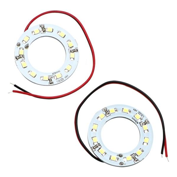 Bộ 2 đèn LED dùng vào ban ngày dành cho xe hơi