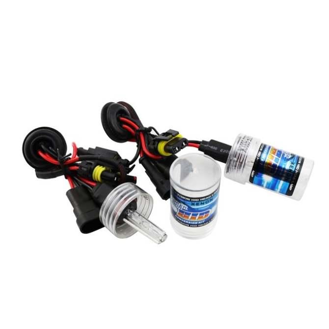 2x H4 55W Hi/Low Dual Beam HID Bi-xenon Bulb Lamp Light Conversion