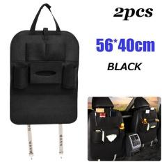 2x Peach Style Car Seat Back Multi-Pocket Storage Bag Organizer Holder Accessory - intl