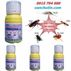 Chiết Khấu 4 Chai Dung Dịch Diệt Muỗi Con Trung Fendona 10Sc 50Ml Ngăn Ngừa Dịch Zika Zurich Branch Basf Hồ Chí Minh