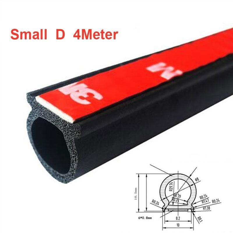 4 m D Hình Xe Vheicle Cạnh Cửa Dán Cao Su Chống Thấm Nước Chống tiếng ồn Dây-quốc tế