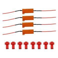 Chiết Khấu 4X Điện Trở Tải Đen Tin Hiệu Rẽ Led Nhấp Nhay Nhanh Cố Định 50W 6Ohm Quốc Tế Oem
