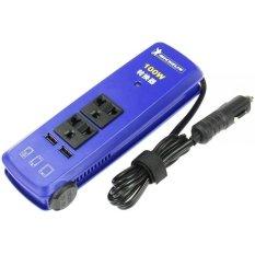Adapter inverter chuyển điện dùng trên ô tô Michelin 72001ML (Xanh)