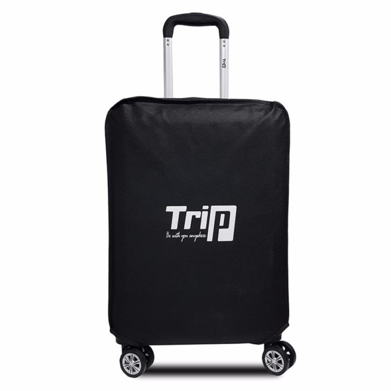 Áo trùm vali size 60cm-24inch (màu đen)