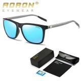 Cửa Hàng Aoron Men S Polarized Sunglasses Classic Brand Designer Goggles Defending Coating Lens Women S Fashion Leisure Shades Glasses Black Blue Intl Aoron Trung Quốc