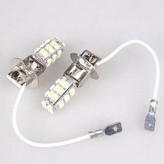 Aukey 2 cái Xenon Trắng Mát 28 3528 SMD LED H3 Sương Mù Đầu đèn Ô Tô Đèn Sáng thumbnail