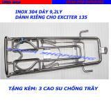 Bán Baga Inox 304 Day 9 2 Ly Vt1 Cho Yamaha Exciter 135
