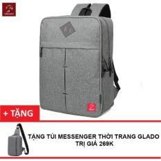 Mã Khuyến Mại Balo Laptop Thời Trang Nam Zapas Blc005 Tặng Túi Messenger Glado Dcg025 Hang Phan Phối Chinh Thức