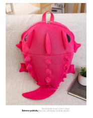 Giá bán Balo mẫu giáo - cá sấu/hồng