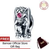 Mua Bamoer Genuine 100 925 Sterling Silver Thailand Lucky Elephant Charms Fit Women Bracelets Fine Jewelry Scc321 Intl Rẻ